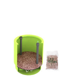 Drainage bag comes included with each Marijuana hydroplanter